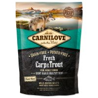 CARNILOVE Fresh Carp & Trout Shiny Hair & Healthy Skin for Adult dogs (1,5kg)
