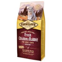 CARNILOVE Fresh Chicken & Rabbit Gourmand for Adult cats (6kg)