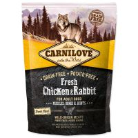CARNILOVE Fresh Chicken & Rabbit Muscles, Bones & Joints for Adult dogs (1,5kg)