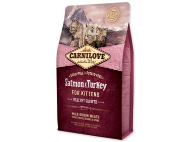 CARNILOVE Salmon and Turkey kittens Healthy Growth (2kg)
