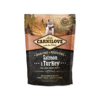 CARNILOVE Salmon & Turkey for Large Breed Puppy (1,5kg)