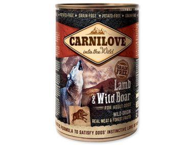CARNILOVE Wild Meat Lamb & Wild Boar 400g ()