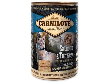 CARNILOVE Wild Meat Salmon & Turkey 400g ()
