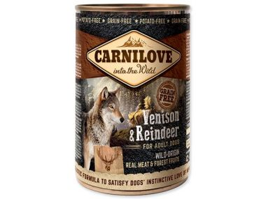 CARNILOVE Wild Meat Venison & Reindeer 400g ()
