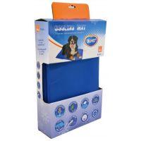 Chladící podložka pro zvířata 96 x 81 cm modrá