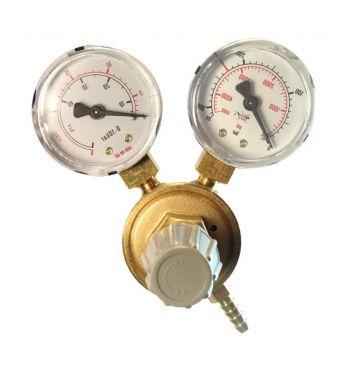 CO2 redukční ventil se dvěma manometry