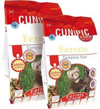 Cunipic Ferrets Junior - fretka junior 600 g