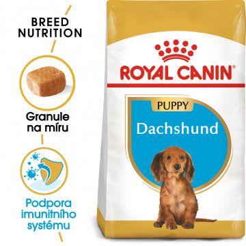 Royal Canin Dachshund Puppy granule pro štěně jezevčíka 1,5kg