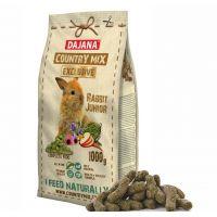 Dajana – COUNTRY MIX EXCLUSIVE, králík junior 1 000 g, krmivo pro králíky
