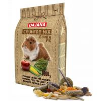 Dajana – COUNTRY MIX, Morče 1 000 g, krmivo pro morčata