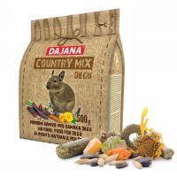 Dajana – COUNTRY MIX, Osmák Degu 500 g, krmivo pro osmáky degu