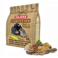 Dajana – COUNTRY MIX, Potkan a Myš 500 g, krmivo pro potkany a myši
