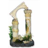 Dekorace akvarijní Antický sloup 12,5 x 10,5 x 20 cm