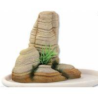 Dekorace AQUA EXCELLENT bonsai + skála 14,1 x 8 x 9,8 cm