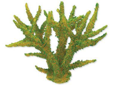 Dekorace AQUA EXCELLENT mořský korál měkký zelený (1ks)