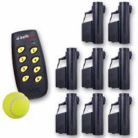 DOG Balls set 8 - Výcvikový podavač míčků