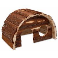 Domek SMALL ANIMAL Hobit dřevěný 25 x 16 x 15 cm (1ks)