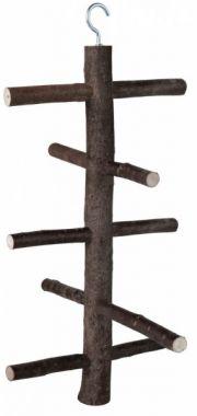 Dřevěná houpačka do voliéry 5 příček 47cm/18cm TRIXIE
