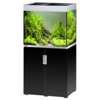 EHEIM akvárium INCPIRIA 200 se skřínkou a osvětlením, černá/stříbrná