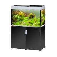 EHEIM akvárium INCPIRIA 300 se skřínkou a osvětlením, černá/stříbrná