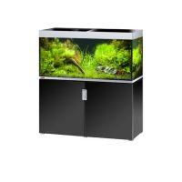 EHEIM akvárium INCPIRIA 400 se skřínkou a osvětlením, černá/stříbrná