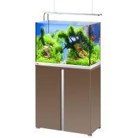 EHEIM Akvárium Proxima 175 Plus, lesklá mokka, včetně stolku, 2x20 W LED