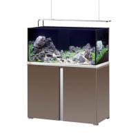 EHEIM Akvárium Proxima 250 Plus, lesklá mokka, včetně stolku, 2x30 W LED