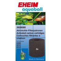 EHEIM FILTRAČNÍ VLOŽKA S AKTIVNÍM UHLÍM PRO FILTR EHEIM Aquaball 2208-12 2 KS