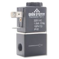 Elektromagnetický ventil GRUN SYSTEM 230 V , 1/8 palce s kabelem