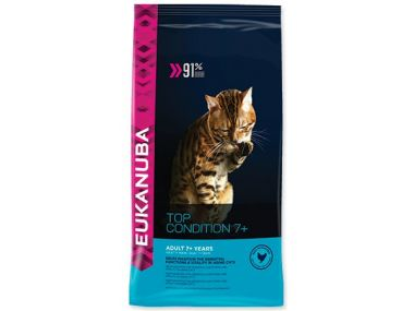 EUKANUBA Cat Adult Top Condition 7+ (400g)