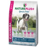 EUKANUBA Nature Plus+ Adult Grain Free Salmon (10kg)