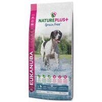 EUKANUBA Nature Plus+ Adult Grain Free Salmon (14kg)