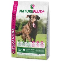 EUKANUBA Nature Plus+ Adult Large Breed Rich in freshly frozen Lamb (10kg)