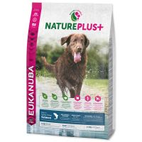 EUKANUBA Nature Plus+ Adult Large Breed Rich in freshly frozen Salmon (10kg)