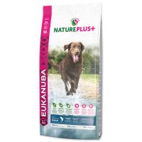 EUKANUBA Nature Plus+ Adult Large Breed Rich in freshly frozen Salmon (14kg)