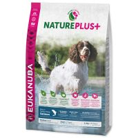 EUKANUBA Nature Plus+ Adult Medium Breed Rich in freshly frozen Salmon (10kg)