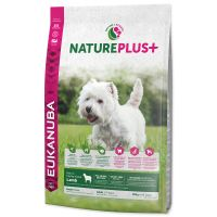 EUKANUBA Nature Plus+ Adult Small Breed Rich in freshly frozen Lamb (10kg)