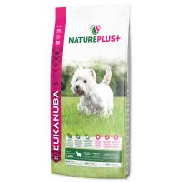 EUKANUBA Nature Plus+ Adult Small Breed Rich in freshly frozen Lamb (14kg)