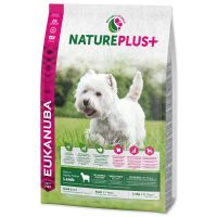 EUKANUBA Nature Plus+ Adult Small Breed Rich in freshly frozen Lamb (2,3kg)