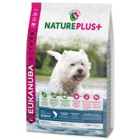 EUKANUBA Nature Plus+ Adult Small Breed Rich in freshly frozen Salmon (10kg)