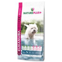 EUKANUBA Nature Plus+ Adult Small Breed Rich in freshly frozen Salmon (14kg)