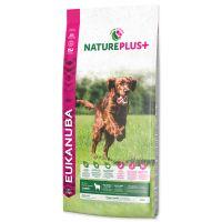 EUKANUBA Nature Plus+ Puppy & Junior Rich in freshly frozen Lamb (14kg)