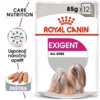 ROYAL CANIN Exigent Dog Loaf kapsička s paštikou pro mlsné malé psy 12x