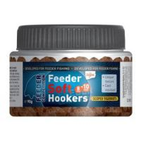Feeder Soft Hookers - 90 g/8 a 10 mm/Česnek