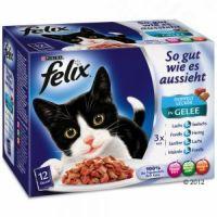 FELIX kapsa So Gut 12ks/100g Rybí výběr