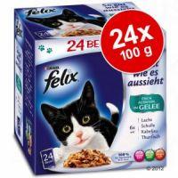 FELIX kapsa So Gut 24ks/100g Rybí výběr