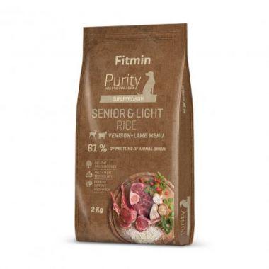 Fitmin Purity Senior & Light Venison & Lamb Rice kompletní krmivo pro psy 2 kg