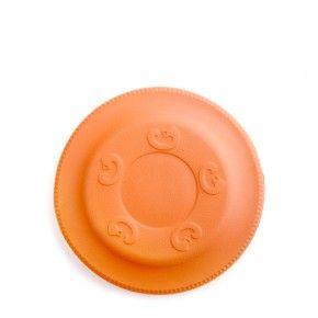 Frisbee oranžové 17 cm, odolná hračka z EVA pěny