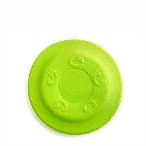 Frisbee zelené 17 cm, odolná hračka z EVA pěny