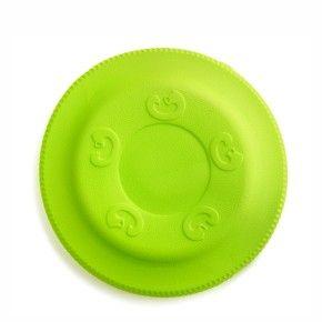 Frisbee zelené 22 cm, odolná hračka z EVA pěny